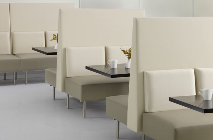 Reveal Banquette Suite,<br />Back to Back Configuration