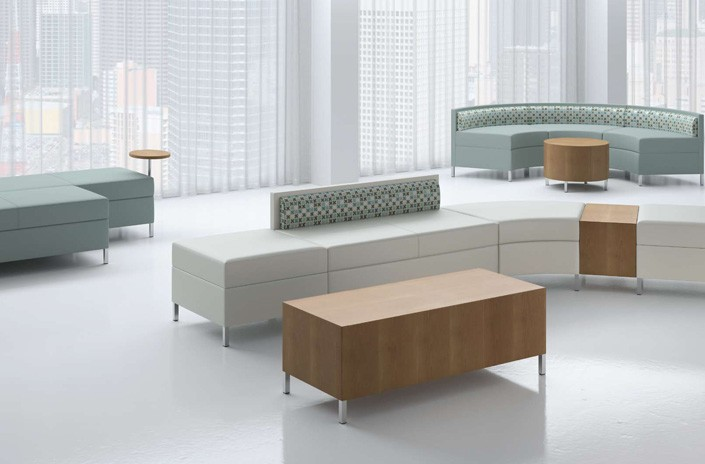 Bristol Modular Banquettes, Tables & Ottomans