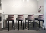 Maitias Maitias Bar Stools with Wood Base<br>See 1025-10WDB for more details.
